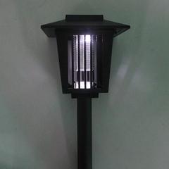 Outdoor Garden Solar Energy Lamp Two Mode Switch black 16*16*17.6cm 1w