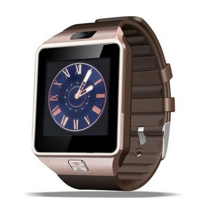Smart Watch With SIM Card Slot Support Call Massage Camera Bluetooth Kids Watch Teen Watch golden 4.3*4*1cm