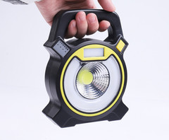 Portable flood light portable mobile work emergency light AAA Battery Not Include black 22*12*10cm 280LM