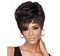 Short Curly Hair Wig Lady Cathy Ad Synthetic Hair Setperformance Natural Lifelike Hairdressing black 15cm