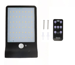 5w 450LM 3 Modes Switch 2000mAh Battery Solar Charge Outdoor LED black 11*18*3cm 5w