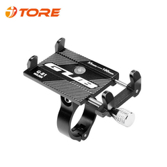 Bicycle Mobile Phone Holder Suitable For 55~100mm Width Cellphone black