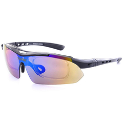 Polarized Sports Sunglasses With Packs And Fixed Headband black