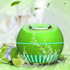 380ml Air Humidifier Essential Oil Diffuser Aroma Lamp Cool Mist Humidifier green 12.5*12.5*11cm