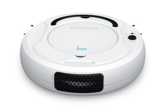 Sweeping robot with charge Lazy smart vacuum cleaner Sweeping Machine Sweeper Cleanning Machine white 25.8*25.8*6.8cm