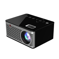 New 1080p Support Max To 80inch HD Projector USB HDMI VGA Input Support black 10*4.8*8.3cm