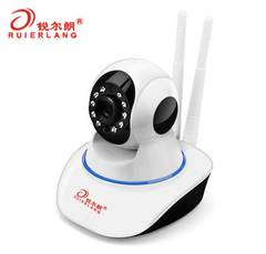 720p Camera House Monitor With Apk Can Used With Cell Phone With 16G TF Card Storage Wifi Support white 11*12*12cm