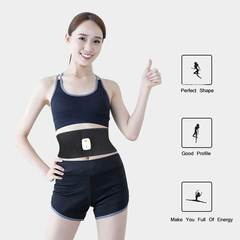 Fitness Exercise Belt Bluetooth Control Muti Models Switch Easily Loose Weight black adjustable