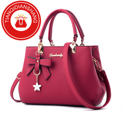 Boom Promotion in 2019, Crazy Purchase, Good Quality and Low Price, Handbags pale red ordinary