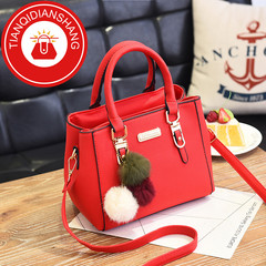 TQDS New promotions in 2019, women's jewelry handbags, shoulder bags, handbags red ordinary