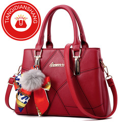 Limited Explosion Promotion in 2019, 20 pieces of price reduction, crazy rush to buy, handbags red ordinary