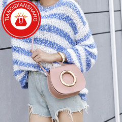 TQDS 2019 new product promotion, low price crazy purchase, one shoulder oblique handbag pink ordinary