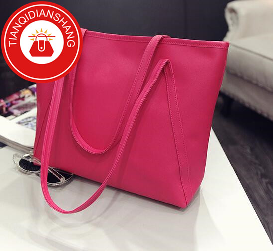 2019 explosion promotion, affordable, exquisite pouch, one shoulder slung pouch pink ordinary tianqidianshang pu 37