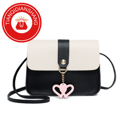 TQDS 2019 explosion promotion, limited purchase, inexpensive, small shoulder slung handbag black ordinary