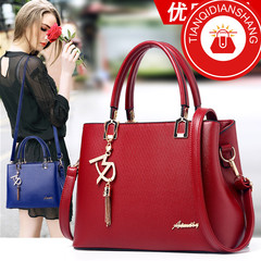 New promotions in 2019, limited to 20, fashionable handbags, sloping shoulder bags red ordinary