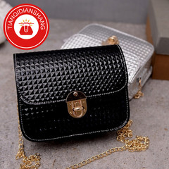 TQDS 2019 boom promotion, crazy purchase, fashion lady messenger bag, chain shoulder bag black ordinary