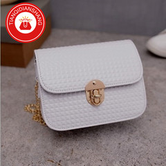 TQDS 2019 boom promotion, crazy purchase, fashion lady messenger bag, chain shoulder bag white ordinary