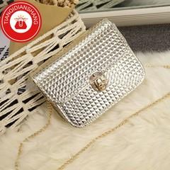 TQDS 2019 boom promotion, crazy purchase, fashion lady messenger bag, chain shoulder bag gold general