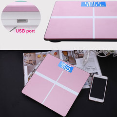 Electronic Weight Scale Body Weight Balance LCD Portable Household Digital Luggage Personal 180KG PINK