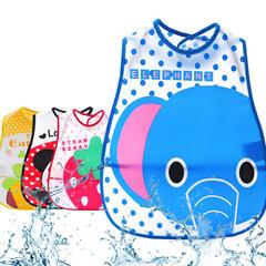 Baby Bibs Infant Scarf Feeding EVA Waterproof Newborn Baby Burp Cloths For Girls Boy Cartoon Towel elephant 45x27cm
