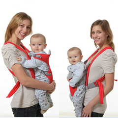 2-30Months Baby Carrier Diaper Bags Kangaroo Backpack Adjustable Breathable Newborn Infant Hipseat red one size