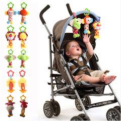KL Baby Handbell Newborn Boys Girls Infant Soft Cute Animal Doll Bedtime Baby Bells Ring Toys