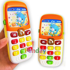 KL Cellphone Electronic Toys Kids Mobile Phone Telephone Learning Toys Music Baby Infant Child Gift multicolor 14x 6 x 3cm