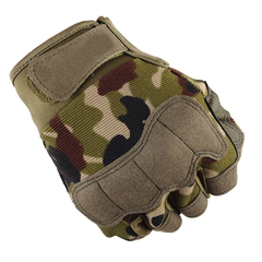 KL Gloves for Men Tactical Sports Fitness Weight Lifting Gym Glove Training Wrist Wrap Exercise green l