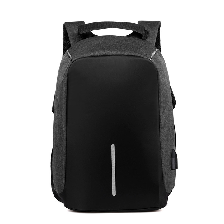 ac230e4caea1 Waterproof Men's Backpack USB Charging Anti-theft Bag Multi-function  Business Computer Backpack black 26*11*13