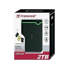 TRANSCEND External Hard Disk Drive USB 3.0 - 2TB black 2tb