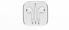 In-Ear Headphone Earphones Earpods with Volume Control For Mobile iPhone huawei white