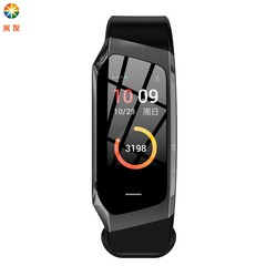 Miyou new heart rate Bracelet dazzling color screen GPS motion trajectory meter step waterproof E18