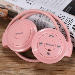 Mini503 Bluetooth Headset Wireless Sport Card MP3 Stereo Headset with FM
