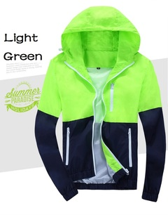 AFS Men's Casual Jacket Waterproof PROMOTION PRICE FOR NEW CUSTOMER ONLY Light Green L