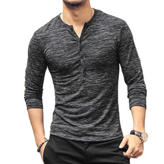 AFS Men's  Shirt Long Sleeve  With explosive price ,high quliaty Black l Cotton