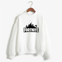 FORTNITE hot style hoodies for men and women casual sport clothes warm fashion comfortable white m