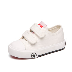 Kid's Casual Shoes Anti-skid Soft Sole Fashion Pre-Walker Shoes white 25