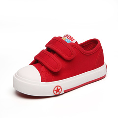 Kid's Casual Shoes Anti-skid Soft Sole Fashion Pre-Walker Shoes red 26