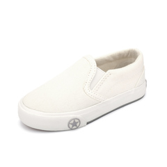 Kid's Canvas Shoes  Simple Casual Shoes white 24