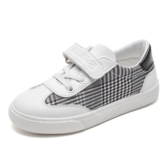 Kid's Leisure Shoes Canvas British style Kids Shoes white 24