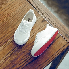 Children's Canvas Shoes Simple Styles All Match  Fashion Shoes white 18