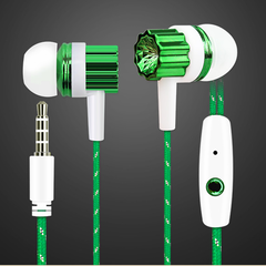 3.5 mm plug computers game headsets in ear earbuds design for Windows headset mobile phone