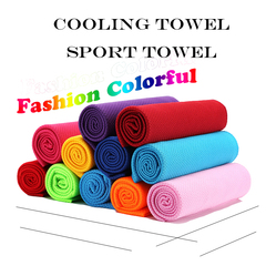 Cooling Towels for Neck Wrap Cool Towel for Hot Weather,Bathroom products for Sport body Blue 30*90cm