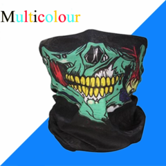 Skull Mask Scarf Joker Headband Balaclavas for Cycling Fishing Ski Motorcycle,Sport,running Multicolour