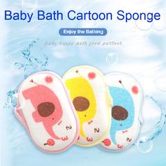 3pcs/set Cheaper New Rub Baby Shower Soft Scrubber Bath Foam Brush Rubbing Towel Bath Sponge 3 Colors 9.5*16 cm
