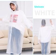 Soft&Fashion Unisex Raincoats&Rain wears, Normal size Rain Coats&Rain Cloths Mackintosh White