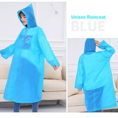 Soft&Fashion Unisex Raincoats&Rain wears, Normal size Rain Coats&Rain Cloths Mackintosh Blue