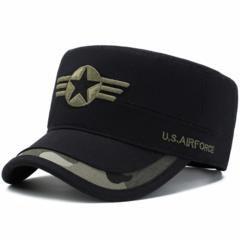 Men's Fashion Army Caps Star Flat Hats hot sale big discount, flash sale&promotions Black one size