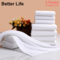 3pcs Cheaper Towel set Solid White Square Towel/Face Towel/Bath Towel Hotel Towels Soft & Absorption Pure White Square Towel+Face Towel+Bath Towel