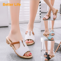 Cheaper Ladies Wedges Heel Sandals Platforms Open Peep Toes Shoes for Dinner & Party Single Color White 35